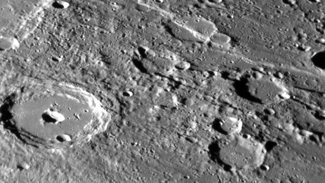 Detailed Photos Of Mercury's Tortured Surface As MESSENGER Winds Down