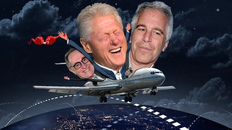 Flight Logs Put Clinton, Dershowitz on Pedophile Billionaire's Sex Jet