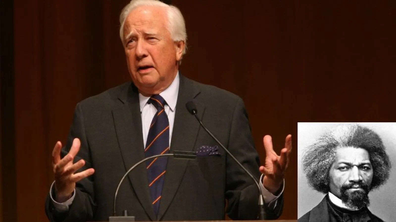 David McCullough Wondering How Much Scratch He Could Shake