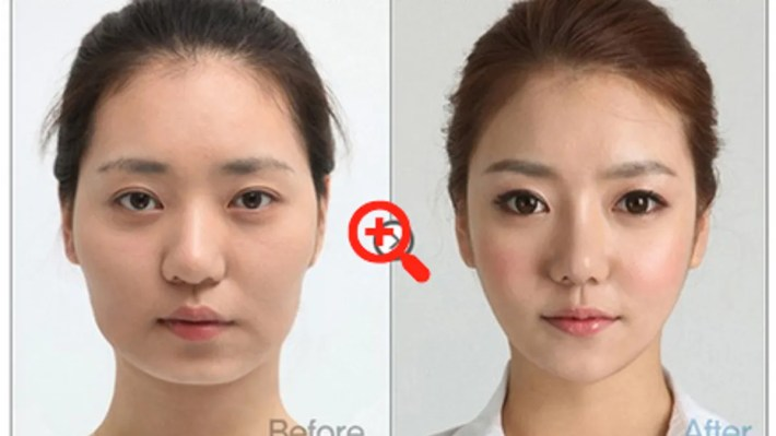 i can't stop looking at these south korean women who've had plastic