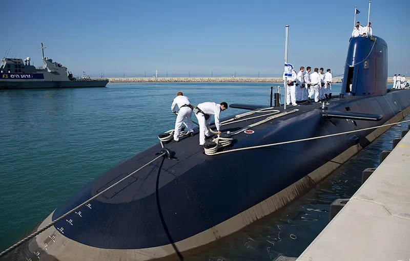 Israel's Newest And Most Advanced Submarine Is Their Last Line Of Nuclear Deterrence