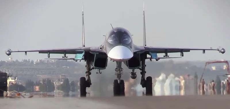 First Video Report From Russia's Air Base In Syria Shows Su-34s In Action