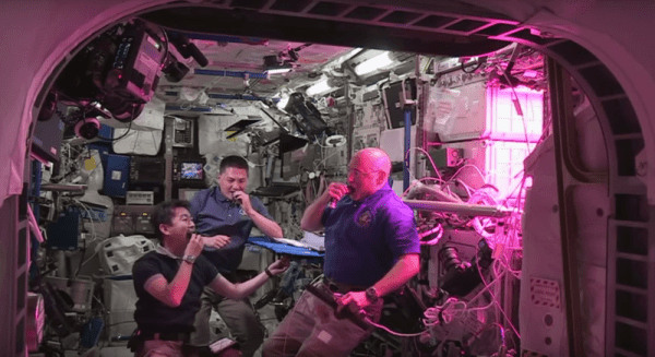 ISS Astronauts Just Ate the First Lettuce Grown in Space!