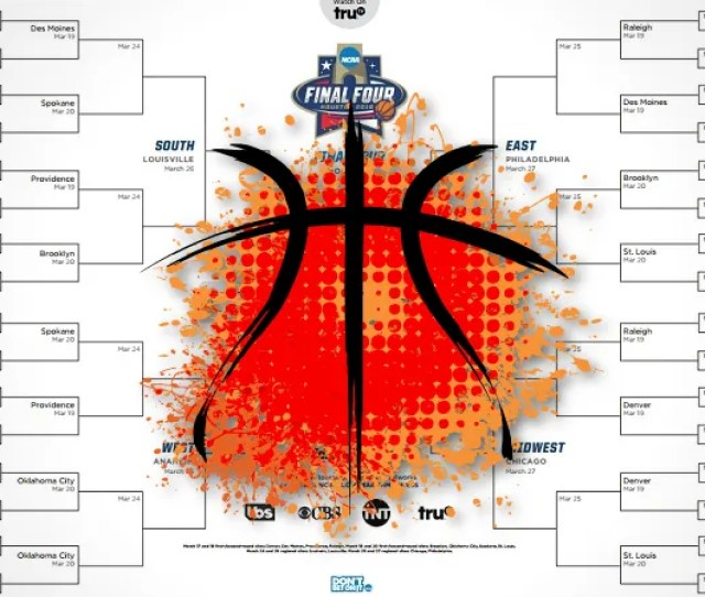 The Ncaa Just Released Official March Madness Tournament Brackets And The Only Thing Separating You From The Perfect Bracket Is A Little Math Driven Logic