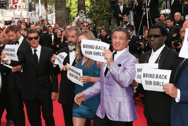 This Is the Least Convincing #BringBackOurGirls Photo Ever
