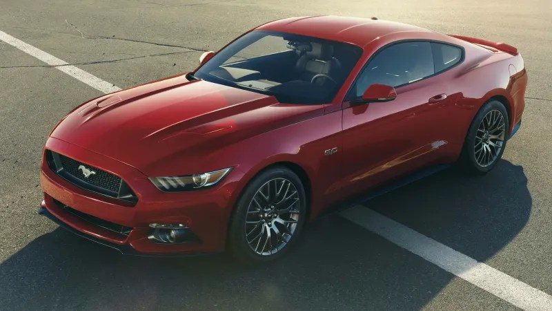 The 2015 Ford Mustang Is The Most Advanced Muscle Car Ever Built When you think  muscle car  many picture a prehistoric V8 belching exhaust  and cheesy rock music  The 2015 Ford Mustang is not that car