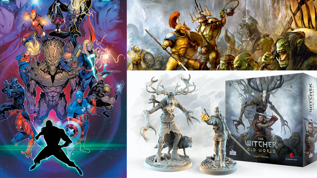 e25ea63fef017859d5de0915f5b13aae Marvel Returns to Roleplaying, a New Warhammer Box Set, and More Tabletop Gaming News | Gizmodo