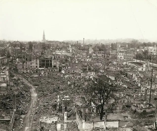 These Previously Unseen Photos Bear Witness to the Carnage of World War II