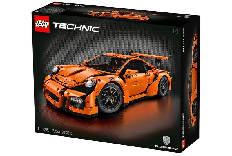 Lego's New 2,700-Piece Porsche 911 Is a Work of Art