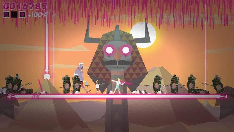 A Game About Throwing Spears At Penguin Vikings And Hipster Giants