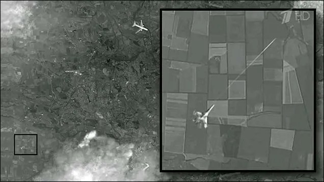 The 'Satellite Image' Of A Ukrainian Fighter Shooting Down MH17 Is Bogus