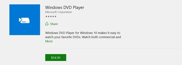 Don't Buy The $15 DVD Player App For Windows 10