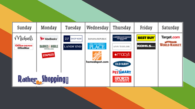 The Best Days of the Week to Shop at Popular Online Sites