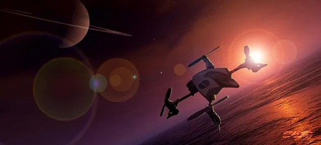 NASA wants to send a quadcopter drone to Titan