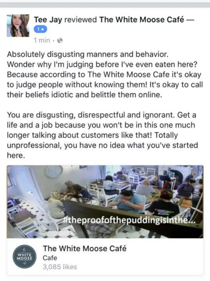 One Restaurant Owner Has Been Waging An Online War With Vegans For Two Months Now