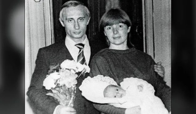 Leleplezték Putyin egyik lányát