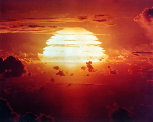 One of the most amazing nuclear explosions ever recorded on film