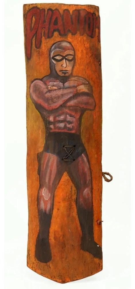 The Phantom inspired New Guinea War Shields (3/6)