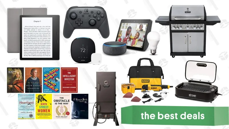 Illustration for article titled Sunday's Best Deals: Blood Sweat and Pixels, Indoor and Outdoor Grills, Spider-Man, and More