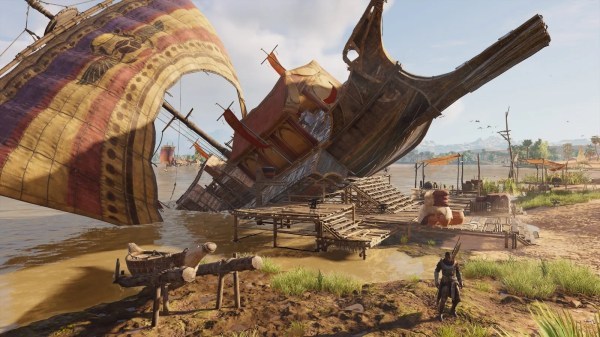 I Love This Unrealistic Assassin's Creed Origins Boat