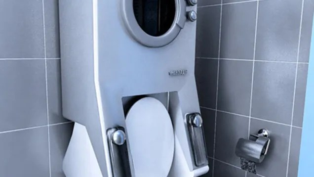 Washup Toilet And Washing Machine All In One Oh Yes