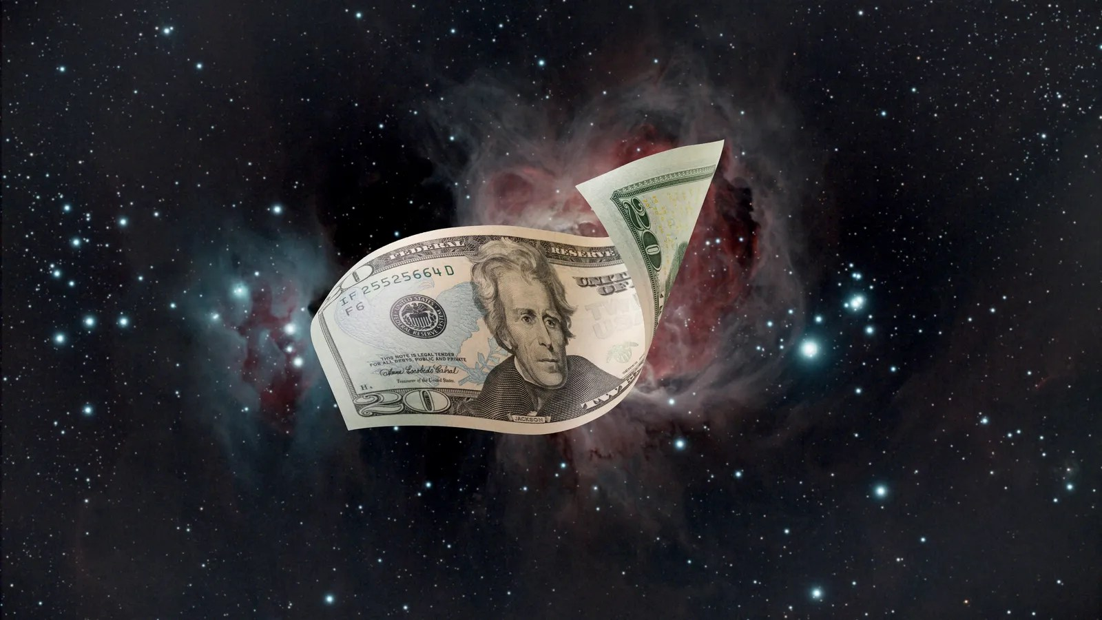 Science Ftw The Hubble Space Telescope Found A 20 Bill