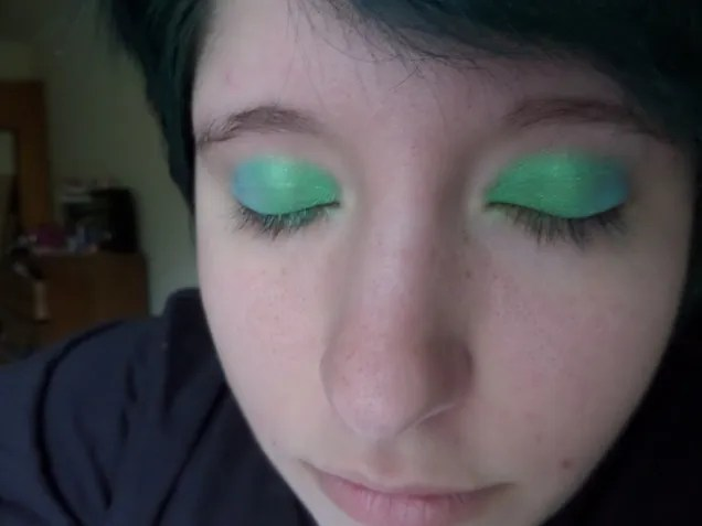 Peacock inspired makeup tutorial
