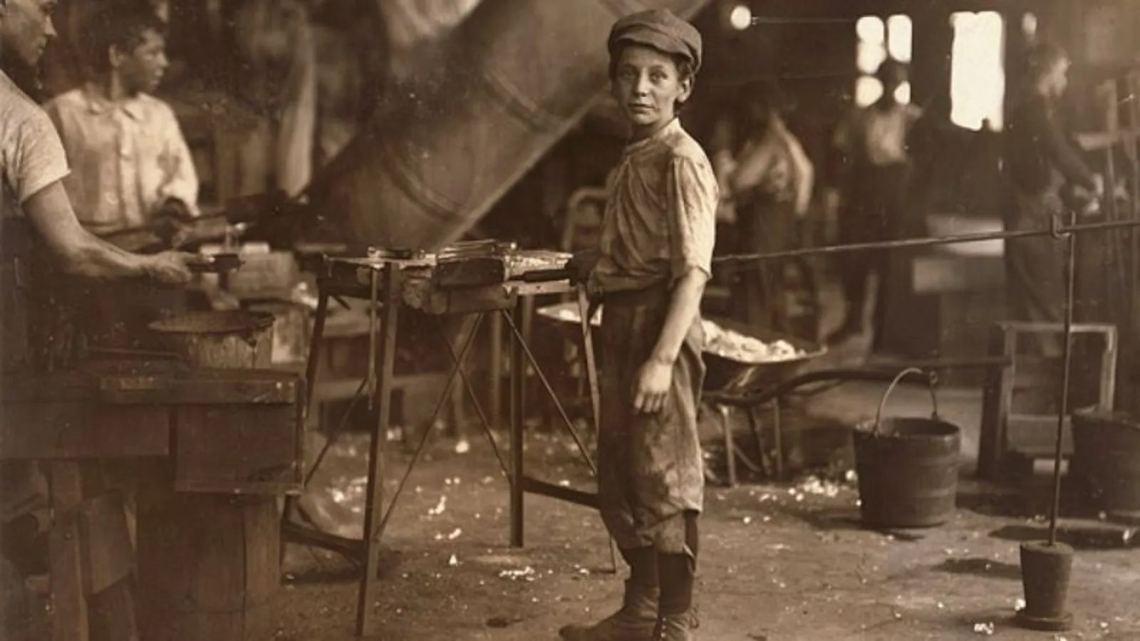 Industrial Revolution Provides Millions Of Out Of Work