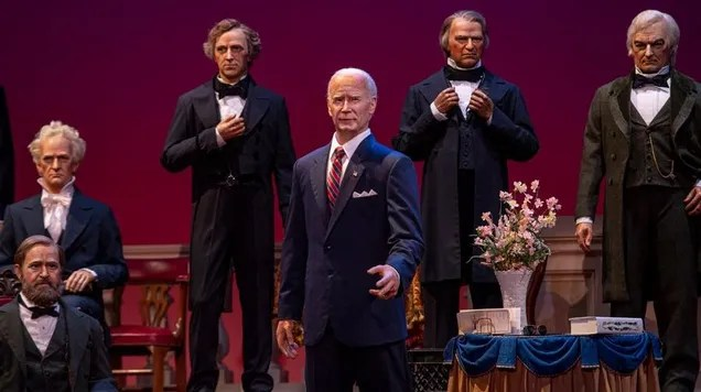 3c9d2dafd06a647adfa0c09eaafb688a Here's Our First Look at the Biden Bot in Disney's Hall of Presidents | Gizmodo
