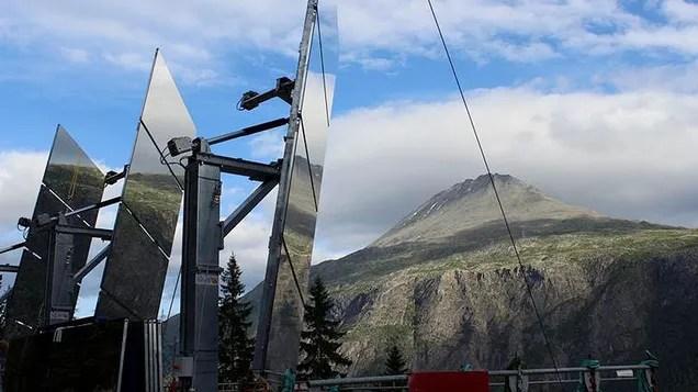 Este pueblo noruego traerá la luz del sol mediante espejos
