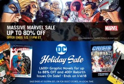 Save Massive On Hundreds Of Digital Comics From Comixology's Vacation Gross sales