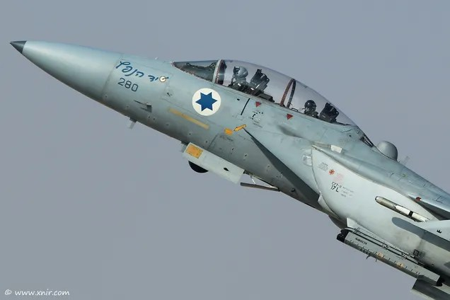 The Amazing Saga Of How Israel Turned Its F-15s Into Multi-Role Bombers
