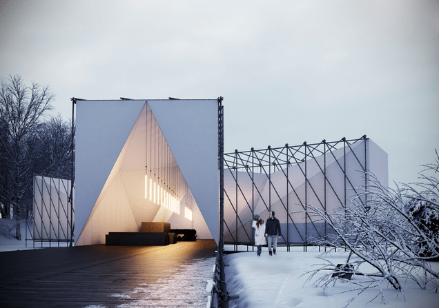Beautiful Warming Huts Are Proof That Canada Does Winter Better Than Us