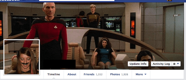I Love This Girl Who Splices Herself Into Awesome Facebook Cover Photos of Movies and TV Shows