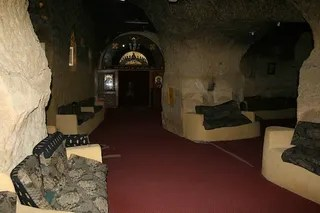 The Cave Church of Garbage City