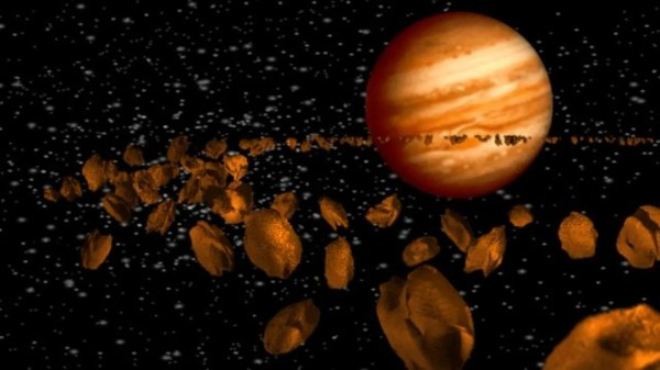 A wandering Jupiter stunted Mars's growth and reshaped the ...