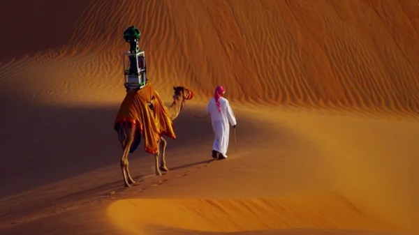 Google Strapped a Camera To a Camel To Put The Desert on ...