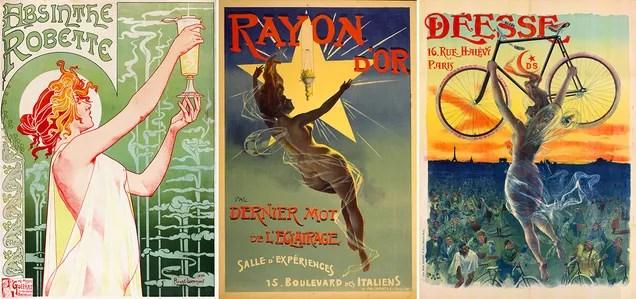 Los carteles más hermosos de los orígenes de la publicidad