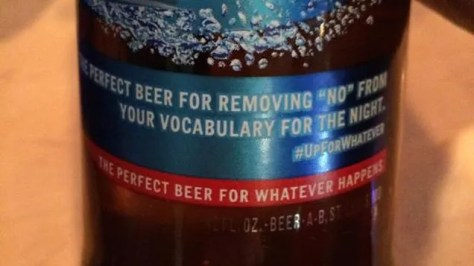 New Bud Light Tagline: 'Remove 'No' From Your Vocabulary for the Night'