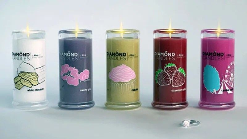 Image result for Diamond Candle