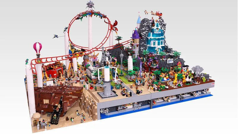 I Really Want To Visit This Lego Amusement Parks Tiny