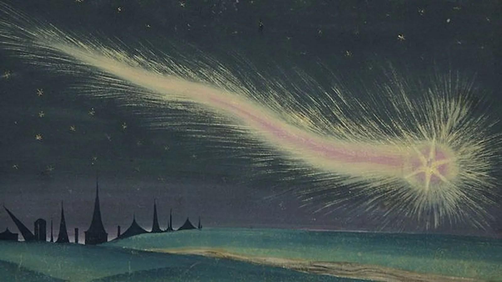 The Greatest Representations Of Comets In The History Of Art