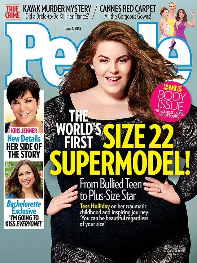 Hot Damn, Tess Holliday Is On the Cover of People Magazine