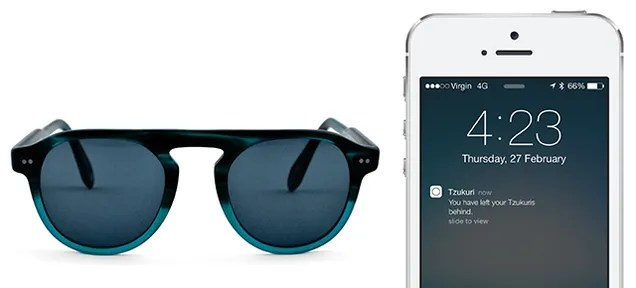 Finally, Sunglasses That Ping Your Phone When You Leave Them Behind