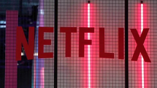 Android: The logo of American entertainment company Netflix is pictured at the Paris games week in Paris.