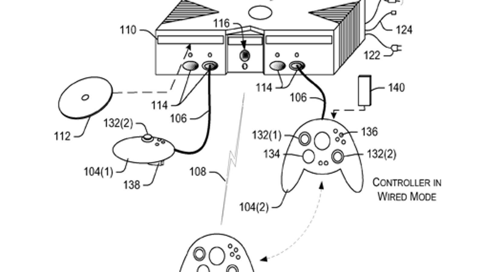 Microsoft Patent Shows A Dual Mode Xbox 360 Controller