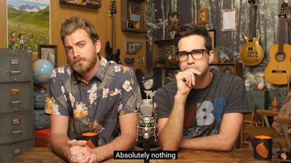 YouTube's Good Mythical Morning does an almost entirely ...