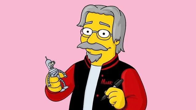 Che serie animata potrebbe Matt Groening creare per Netflix?