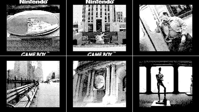 These Pixelated Pics of NYC Were Taken On A Game Boy