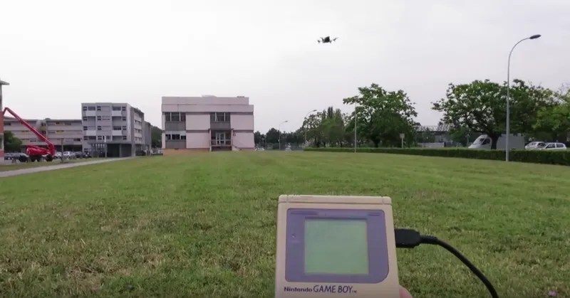 Don't Throw Out Your Game Boy Classic; Use It To Pilot a Drone Instead